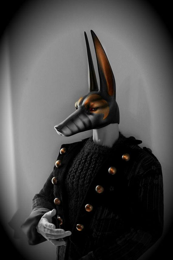 Soom Ender - Dark Temple Guardian Ash BJD by Vogel12