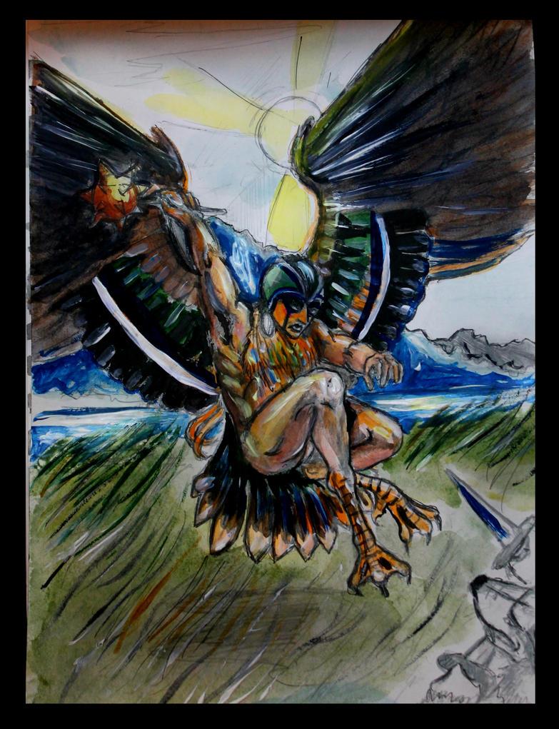 Baikalian Tales - Save the Nest... by Vogel12