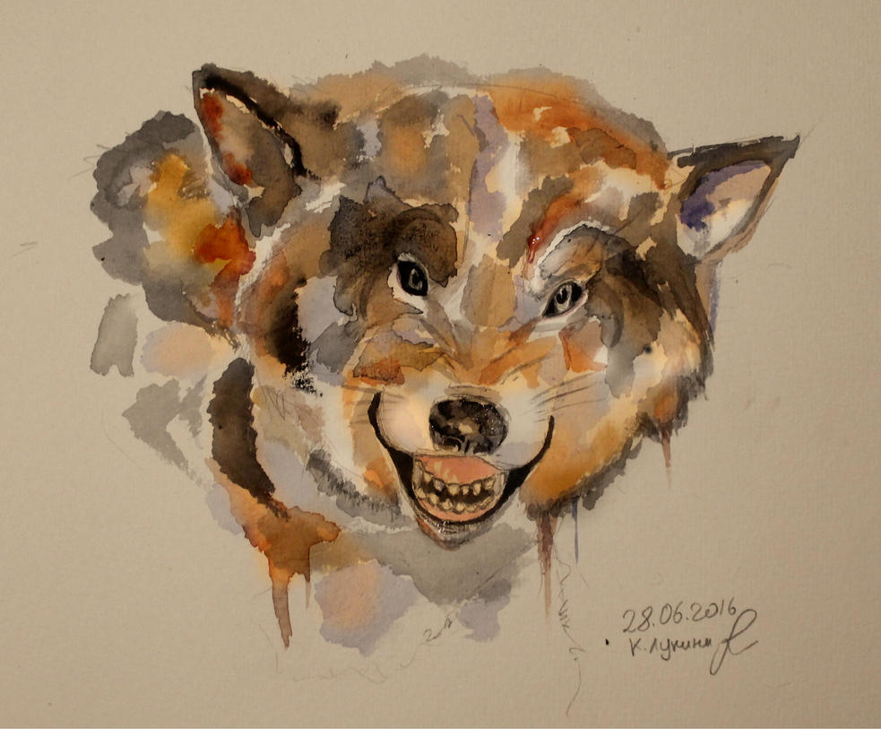 A wolf by Vogel12