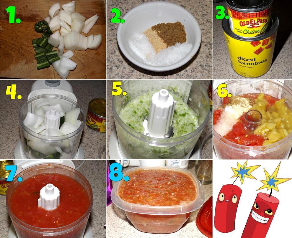 Mexican Restaurant Style Salsa Tutorial! by CorpusVermis