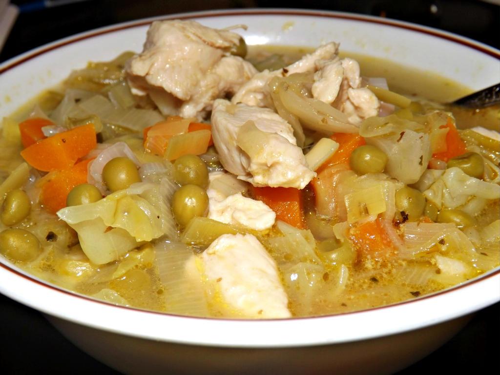 Lemony Leek and Chicken Soup by CorpusVermis