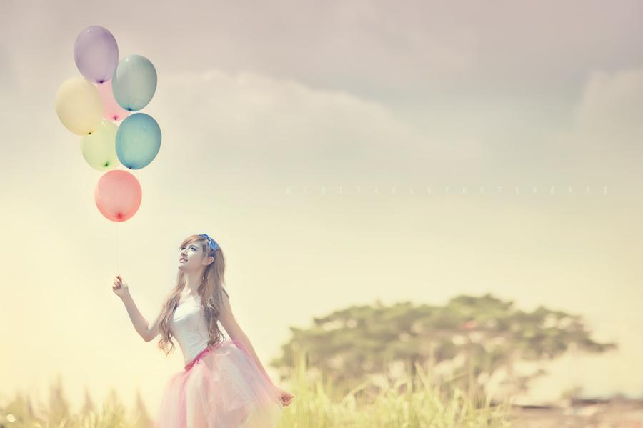 Hot Air Balloon by diditzulu