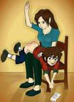 Mommy spank discipline