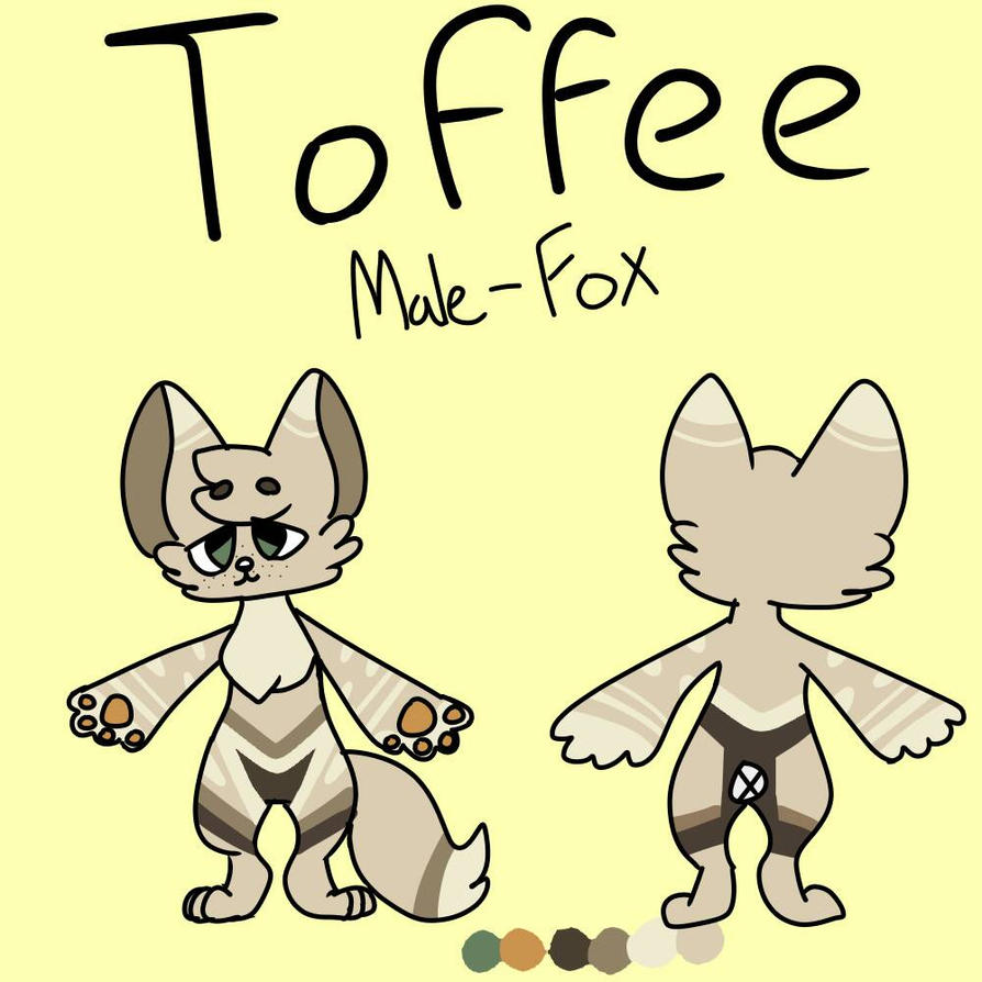 Toffee Ref Sheet by Lilkittins