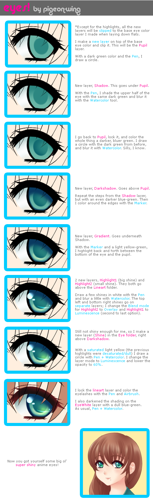 Anime eyes color meaning Gallery Tube