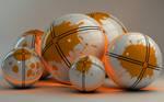 Glowing orange balls