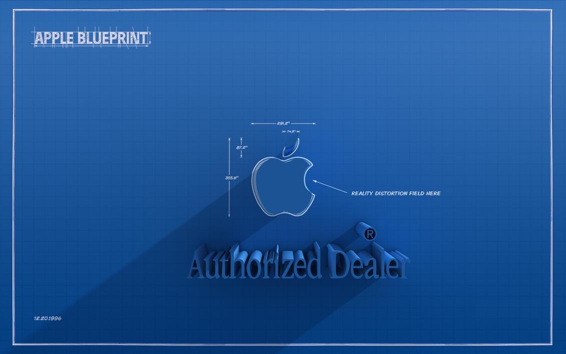 apple blueprint logo by dracuteufel666 on deviantart