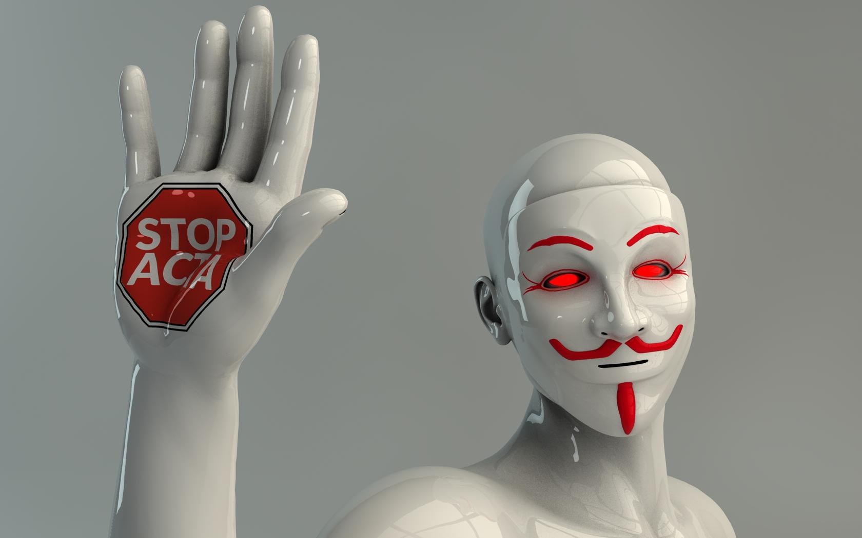 STOP ACTA by Dracu-Teufel666