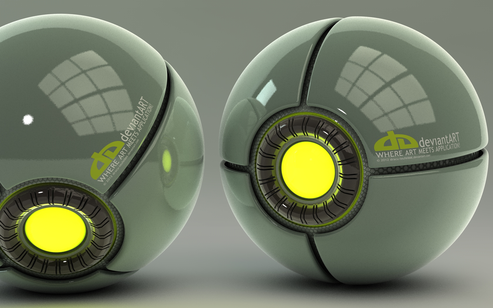 DeviantART glowing Balls by Dracu-Teufel666
