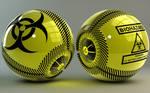Biohazard glowing Balls
