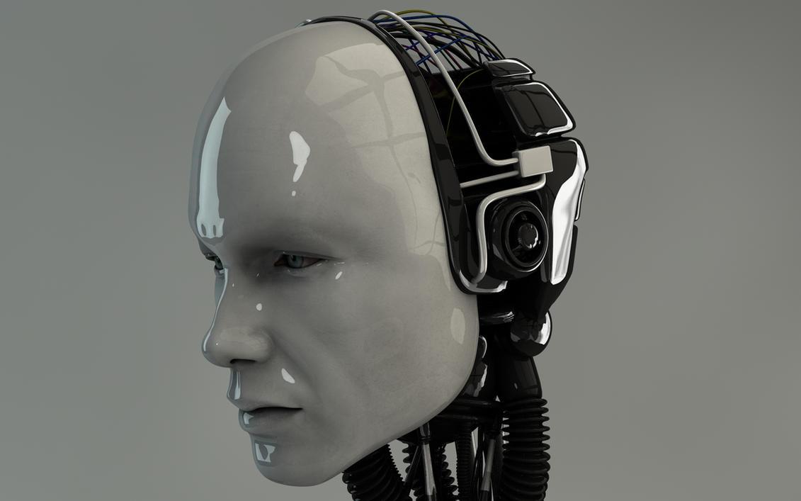 Robotic Man by Dracu-Teufel666