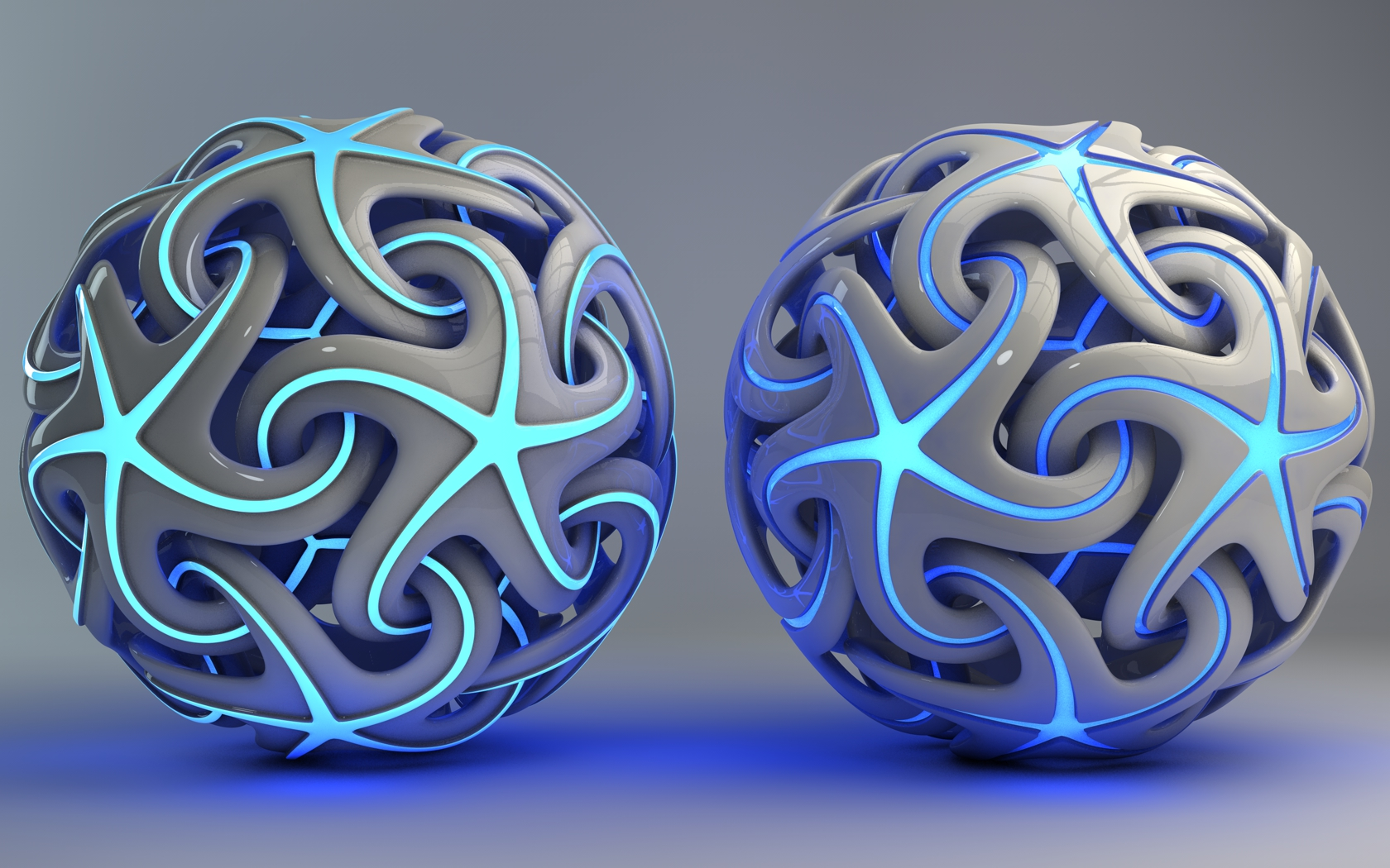 Glowing Star Ball by Dracu-Teufel666