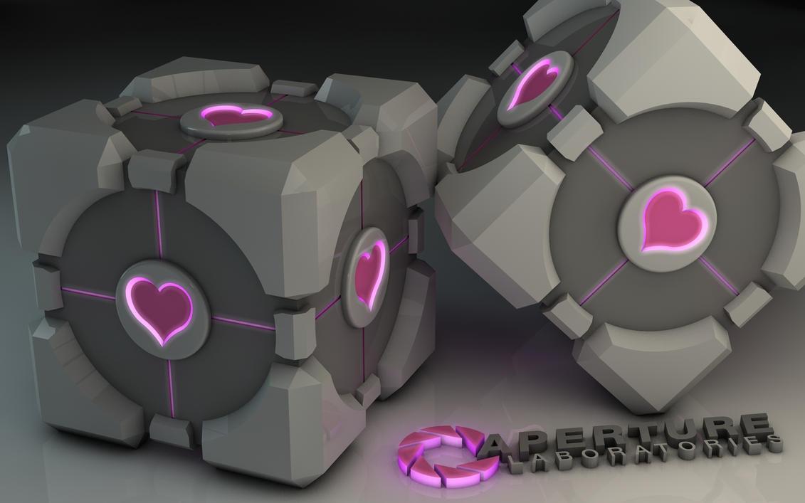 Weighted Companion Cube by Dracu-Teufel666