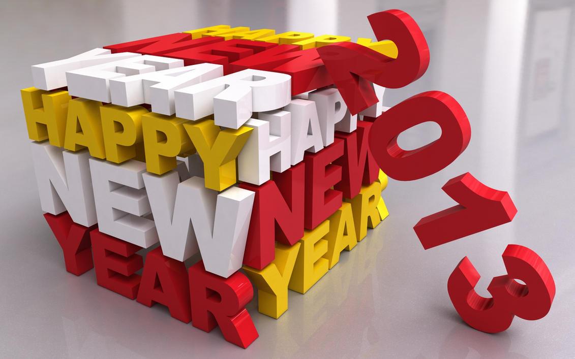 Happy New Year - 2013 by Dracu-Teufel666
