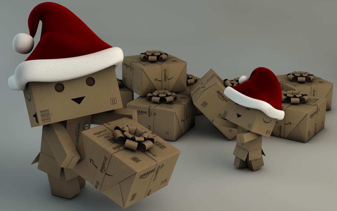 Danbo Christmas by Dracu-Teufel666
