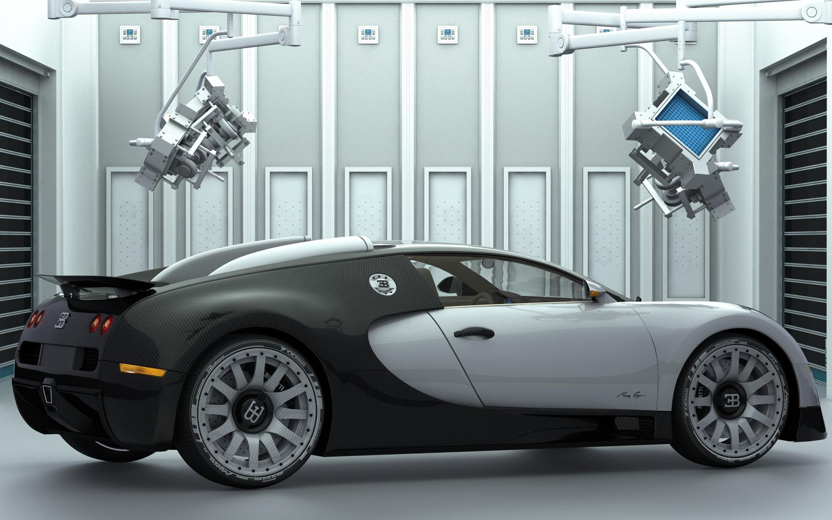 Bugatti Veyron Carbon by Dracu-Teufel666