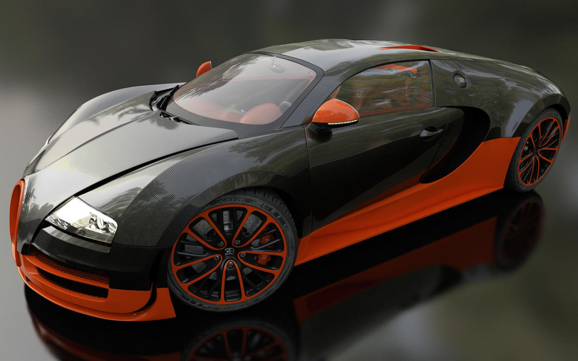 Bugatti Veyron Super Sport Wallpaper Hd: Bugatti Veyron Super Sport (by Dracu-Teufel666)