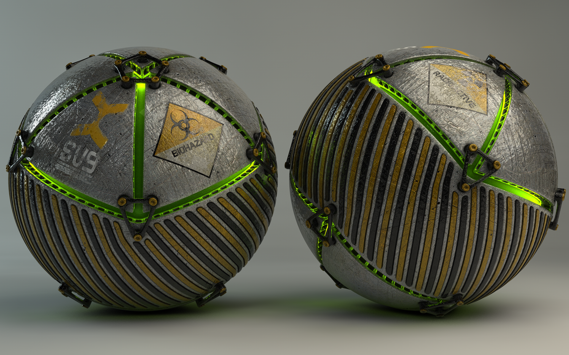 Armoured Ball XXXI by Dracu-Teufel666