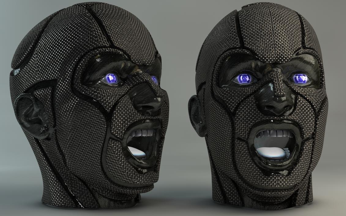 Carbon Head by Dracu-Teufel666