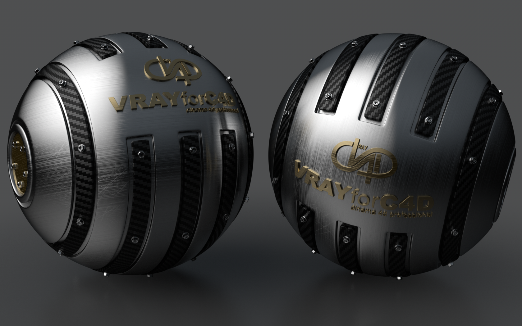 Armoured Ball XLII VRAYforC4D by Dracu-Teufel666