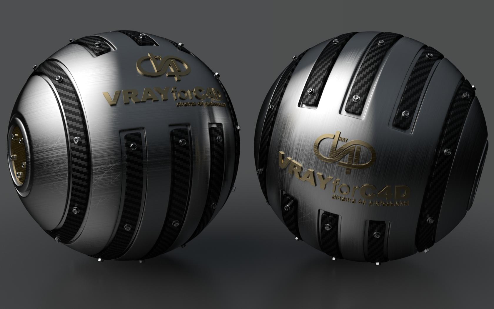 Armoured Ball XLII VRAYforC4D by Dracu-Teufel666