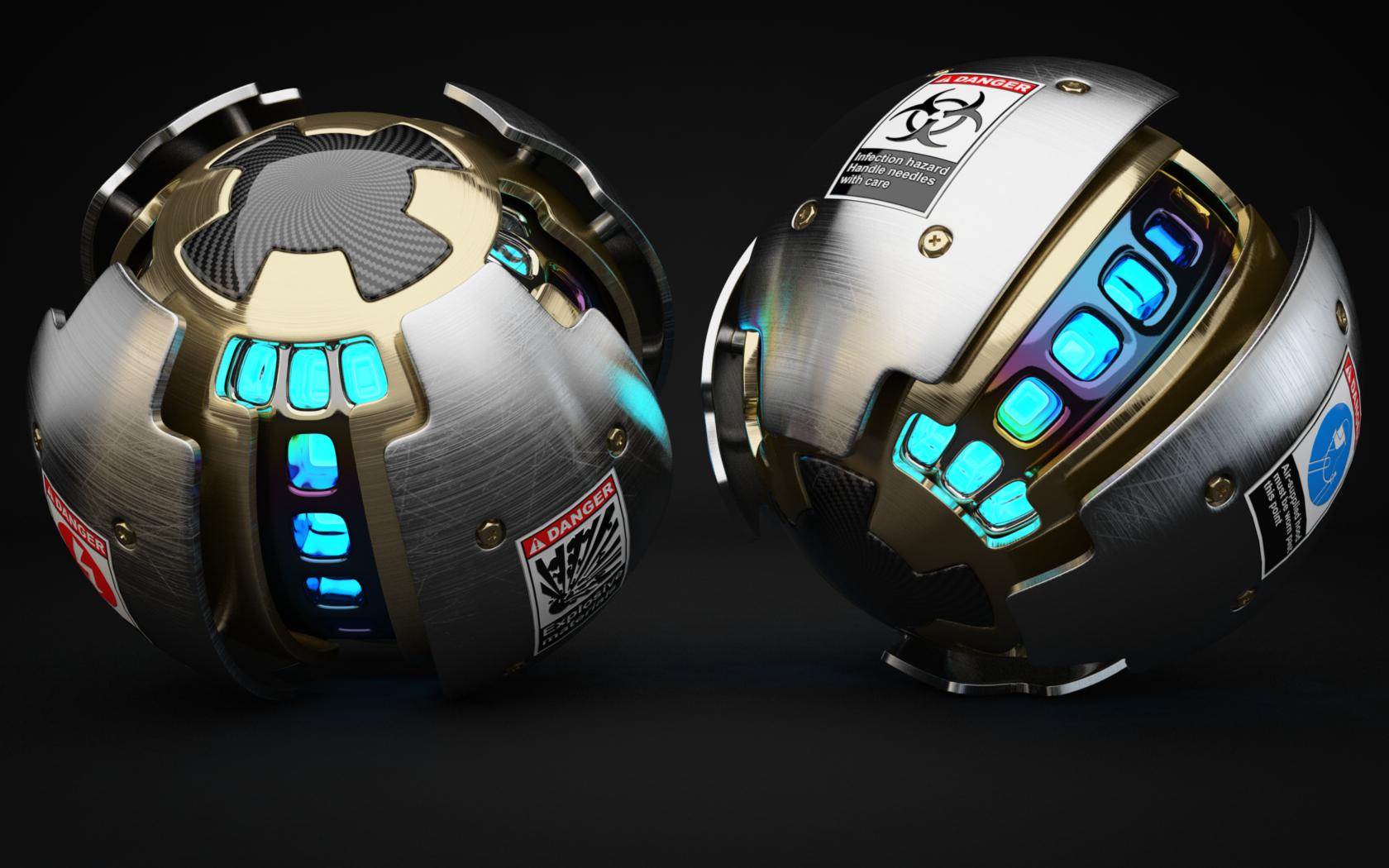 Armoured Ball XLVIII by Dracu-Teufel666