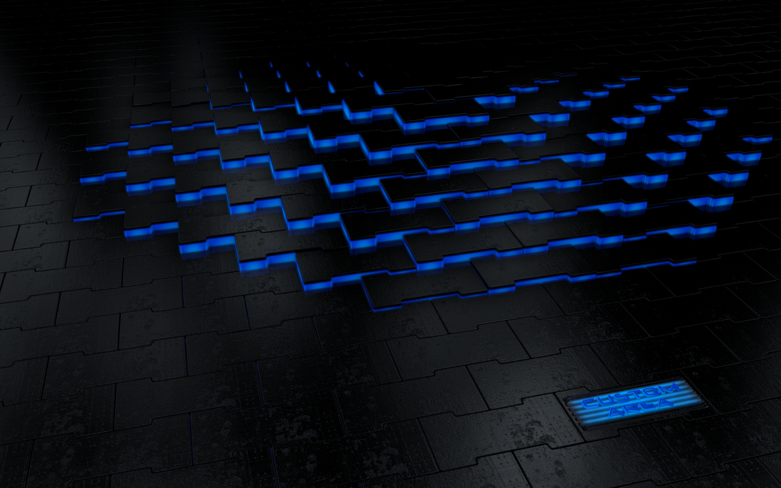 Custom-Area-Logo Glowing Floor by Dracu-Teufel666