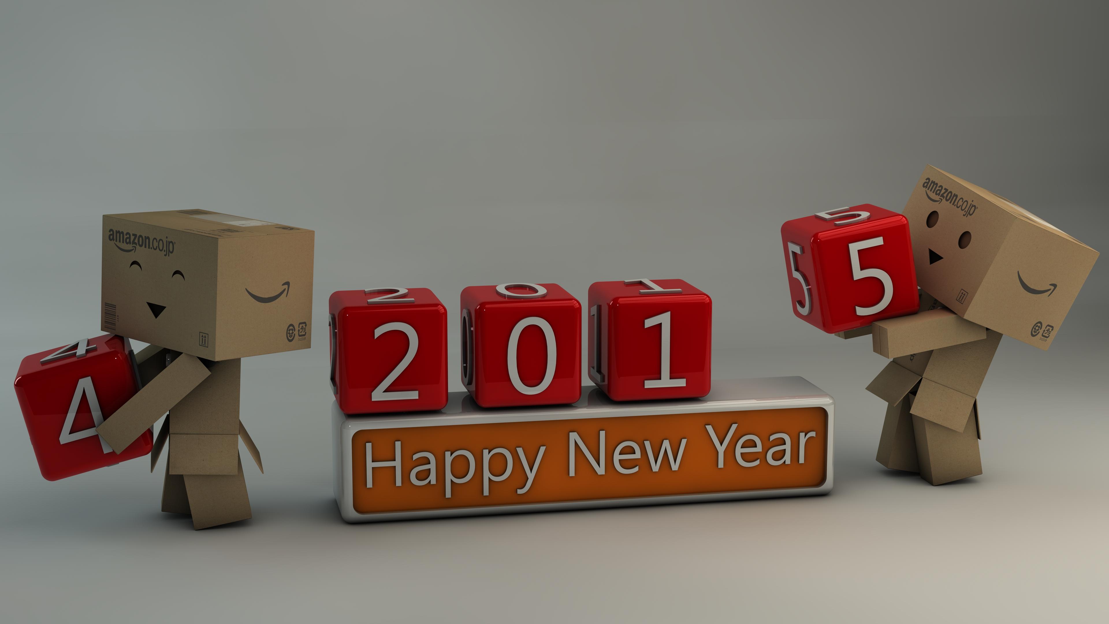 Danbo Happy New Year 2015