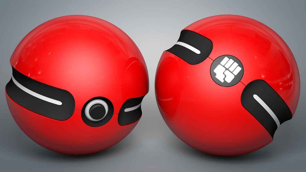 PokeBall by Dracu-Teufel666