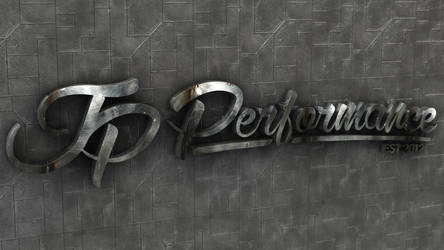 JP Performance - Industrial Logo