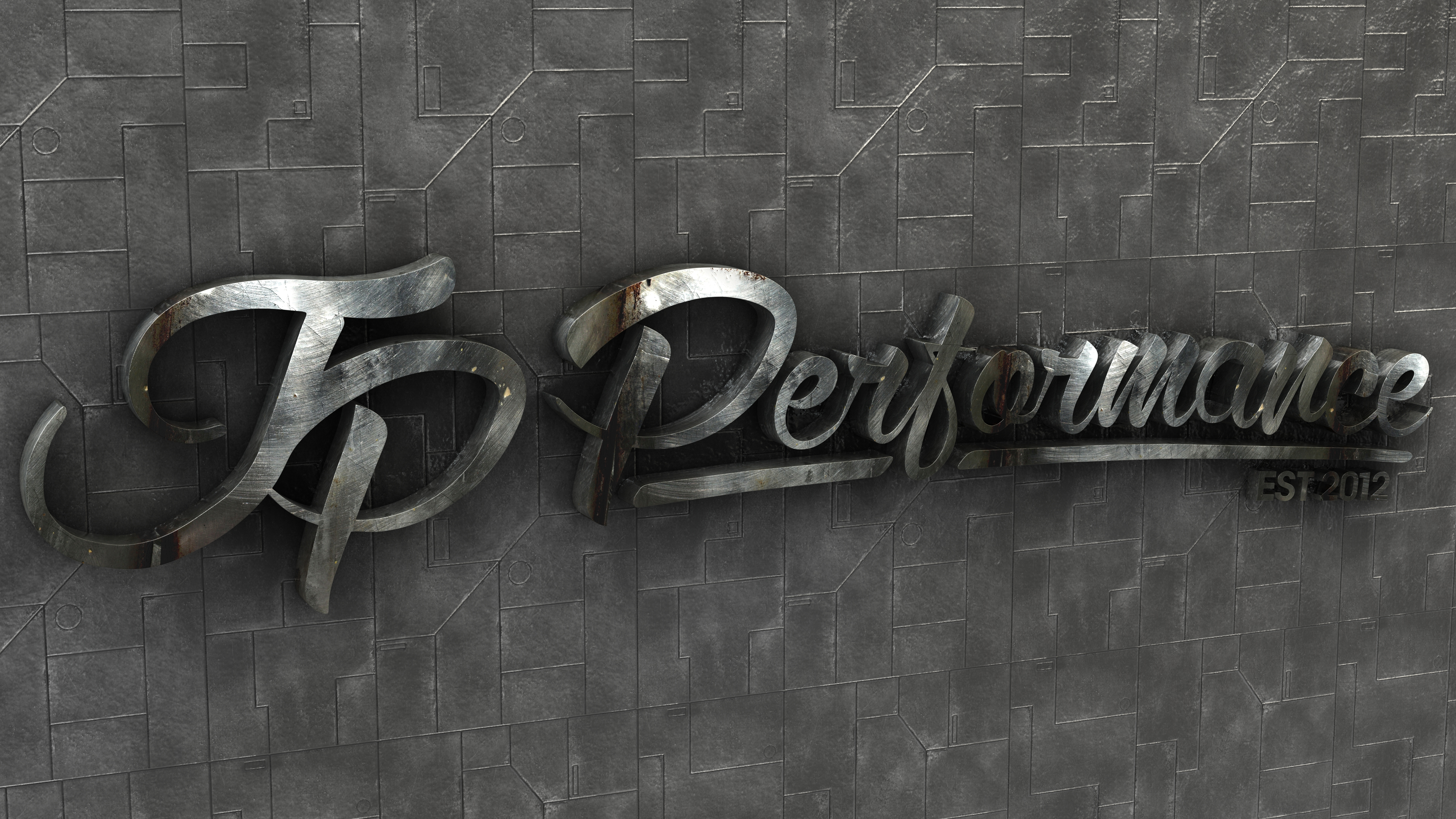 Jp Performance Industrial Logo By Dracu Teufel666 On