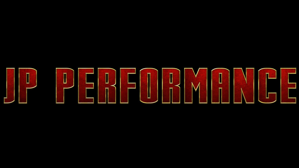 JP Performance - Iron Man Logo (II) by Dracu-Teufel666