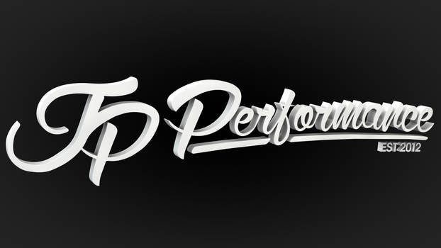 JP Performance - 3D Logo