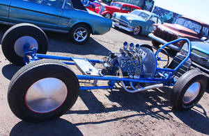 Early Flathead Dragster by StallionDesigns