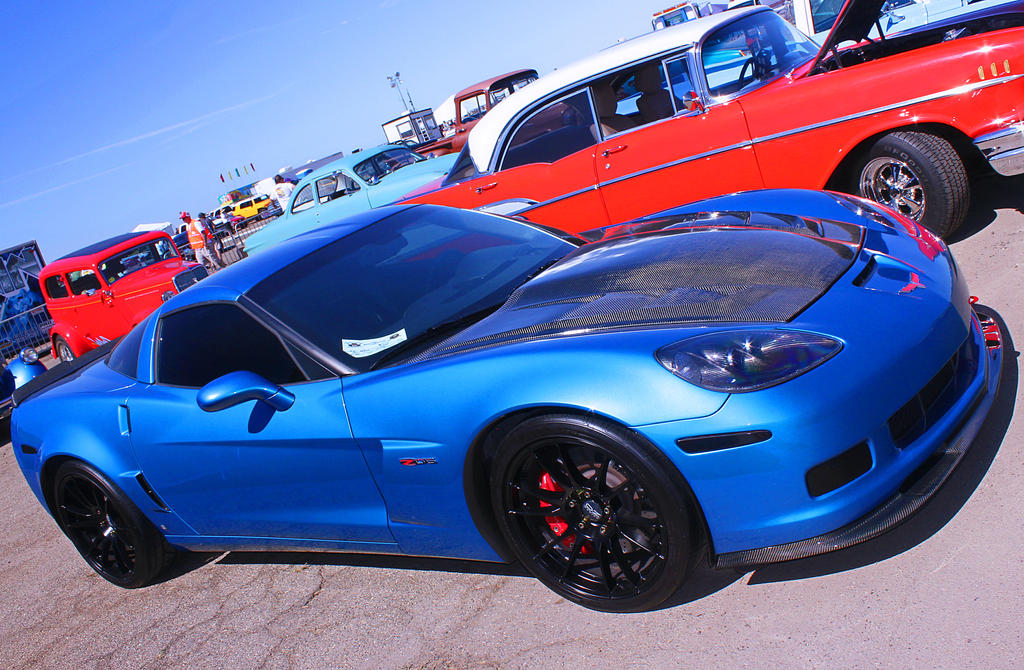 Z06 w/carbon fiber glare by StallionDesigns