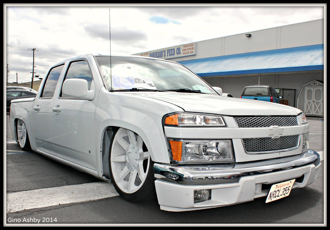 Bagged Chevy Colorado By Stalliondesigns On Deviantart