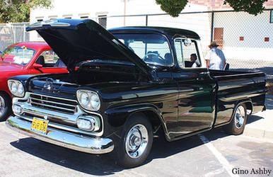 Black Chevy Truck