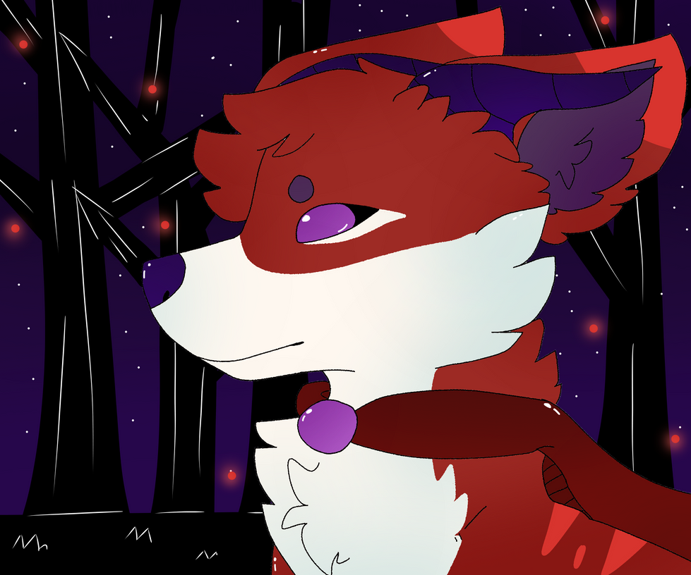 Magical Wolf by Dragonqueen316AJ