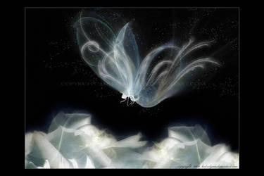 Glowing Butterfly by kedralynn