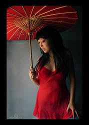Lady In Red by kedralynn
