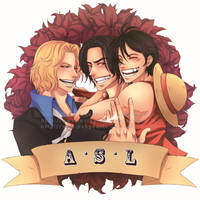 ASL - One Piece by PenguArts