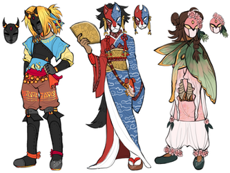 into the woods    adopts [closed] by crimsxnflxwerz
