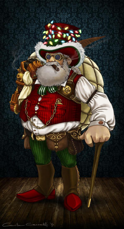 Steampunk Santa By MillaMeh On DeviantArt