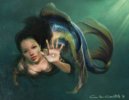 Mermaid by MillaMeh