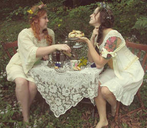 the arsenic tea party
