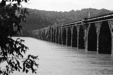 Train Bridge by jhh79