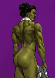 She-Hulk by deu-O