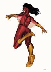Spider-Woman by deu-O