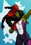 She-Hulk and Spidey YEET SPECIAL