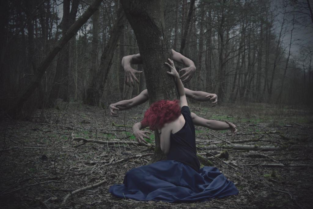 Tree Of Fear by MissCarolinaK